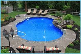 Landscaping Around A Pool by Landscape Around Inground Pool Google Search Outside Our Home