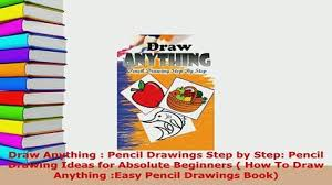 pdf learn to draw cartoons pencil drawings step by step book 1