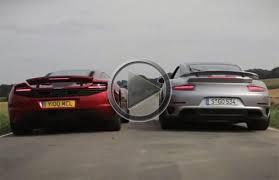 vs porsche 911 turbo 2014 porsche 911 turbo s vs mclaren mp4 12c