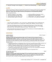 resumes for exles interior design skills resume designer sles visualcv database