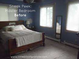 master bedroom makeover reveal little bits of granola a sneak peek at my master bedroom makeover here is one of the before pics