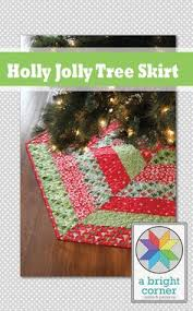 Quilted Christmas Tree Skirts To Make - make own tree skirt pattern and instructions super easy to make