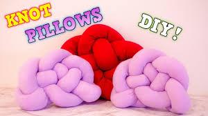 knot pillows diy knot pillow pinterest inspired tranquil inspire youtube