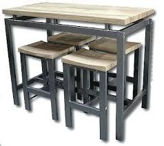 hauteur standard table de cuisine table de cuisine haute table cuisine haute jade tabouret table