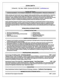 electrical engineering resume example http jobresumesample com