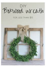 indoor wreaths home decorating diy boxwood wreath wreaths craft and crafty