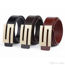 wholesale mens belts luxury good quality male designer belt letter
