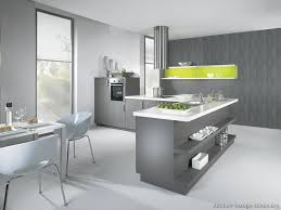 Gray Kitchens Pictures Modern Gray Kitchen Cabinets With White Laminate Top Splash Of