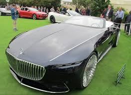 maybach sports car ultra mercedes maybach 6 cabriolet bows at pebble wheels ca