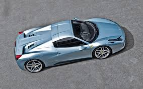 Ferrari 458 Blue - 2013 a kahn design ferrari 458 spider blue static 1