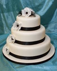 wedding cake ribbon wedding cakes pictures anemone wedding cake pictures