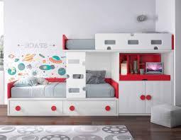 chambre lit superposé fascinant lit superposé avec rangement concernant chambre enfant