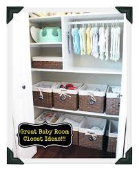 nursery closet organization baby room ideas