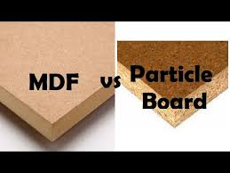 is mdf better than solid wood difference between mdf particleboard