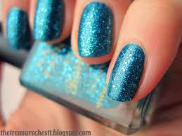 the treasure chest monday blues mermaid nails