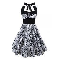 canada skull summer dress plus size supply skull summer dress