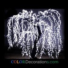 wholesale cd lt106 led lighted weeping willow tree decorations for