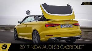 audi rs3 cabriolet 2017 audi s3 cabriolet test drive exhaust sound