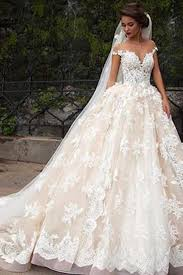 lace top wedding dress glamorous cap sleeves lace tops wedding dress with court