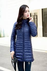 Plus Size Down Coats Women Winter Coat Ultralight Slim 90 White Duck Down Jackets Plus