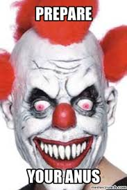 Scary Clown Meme - clown