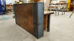 Custom Made Reception Desk Terrific Modern Industrial Desk 95 Modern Industrial Desk Chair