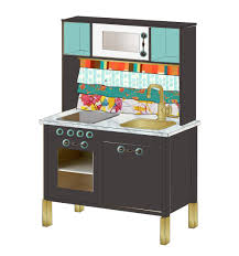 Ikea Play Table by Ikea Mini Kitchen Makeover Hack Visual Vocabularie
