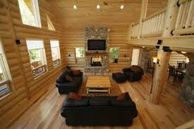 Small Log Cabin Home Plans by Log Home Plans Cabin Southland Homes Lakefront Danbury Hahnow
