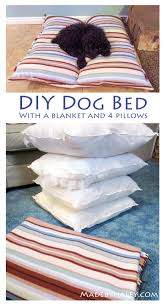 Puppy Beds Diy Dog Bed With Things You Already Have Made By Haley Blog