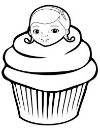 printable 42 cupcake coloring pages 2121 cupcake coloring pages