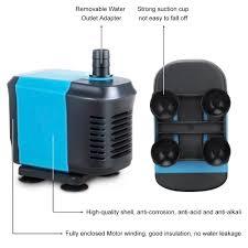 High Suction Lift Water Pump Amazon Com Kedsum 550gph Submersible Water Pump For Pond
