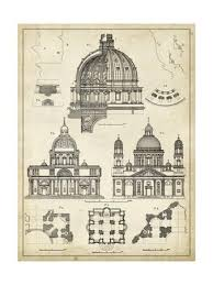architectural blueprints for sale architectural plans renderings posters at allposters com