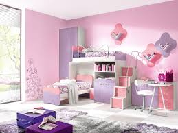 luxurious pink colour concept kids bedroom for girls pottery barn