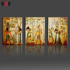 Mural Painting On Canvas by Aliexpress Com Buy Canvas Painting Triple Abstract Picture