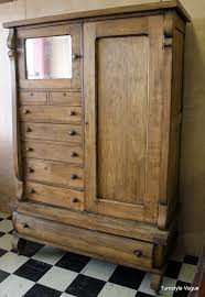 Antique Oak Armoire Antique Armoire With Drawers Chest Of Drawers