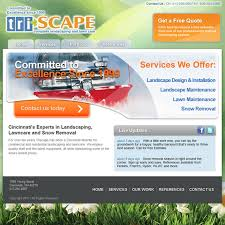 Landscaping Advertising Ideas Triscape Landscaping Web Design Ideas And Pixels