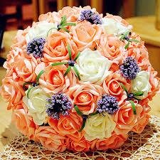 Wedding Bouquets Cheap Aliexpress Com Buy 2017 New Arival Bridal Bouquets Cheap