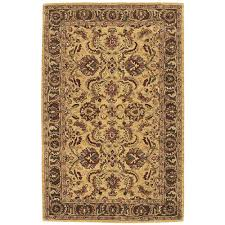 Shaw Area Rugs Home Depot Nourison India House Gold 8 Ft X 10 Ft 6 In Area Rug 212658