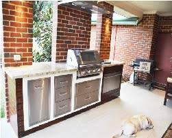 a gallery of built in bbq and outdoor kitchens perthaustralian