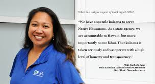 Hawaii travel assistant images Employment opportunities the office of hawaiian affairs oha jpg