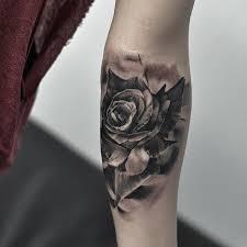 lower sleeve wonderful cool realistic rose tattoo golfian com