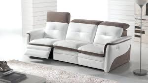 canape cuir electrique canape canape cuir relax 3 places salon de relaxation manuel 100
