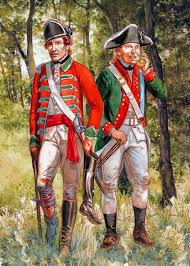 uniforms of the american revolution french army americans war
