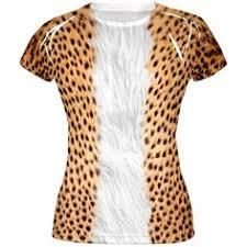 Halloween Cheetah Costumes Halloween Cheetah Costume Shirt Cheetah Costume