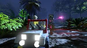 lego jurassic world jeep lego jurassic world preview gamerevolution