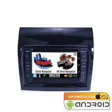 android fiat ducato gps bluetooth car player navigation radio