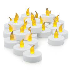 fake tea light candles flameless led tea light candles realistic battery powered