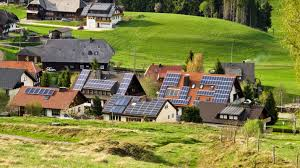 Black Forest Germany Map Solar Power Remains Popular In Germany Despite Cost Earthzine