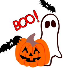free halloween clipart images black and white no background