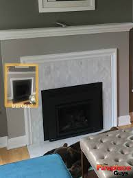 add on fireplace before and after add a gas fireplace 34 modern just add tile fireplace update edina mn
